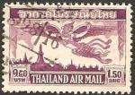 Stamps : Asia : Thailand :  volando