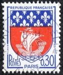 Stamps France -  Escudos de armas