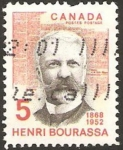 Stamps Canada -  henri bourassa