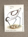 Sellos de Europa - Reino Unido -  100 Aniv de la Sociedad Protectora de Aves