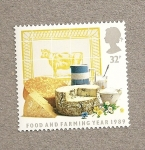 Stamps United Kingdom -  Alimentos y Agricultura