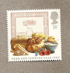 Stamps United Kingdom -  Alimentos y Agricultura