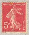 Sellos de Europa - Francia -  Semeuse camée