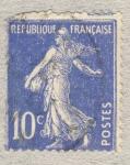 Stamps France -  Semeuse camée