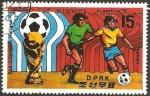 Sellos del Mundo : Asia : Corea_del_norte : copa del mundo de futbol, campeon argentina, subcampeon holanda