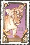 Stamps Asia - North Korea -  fauna, tigre