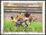 Sellos del Mundo : Asia : Corea_del_norte : Final campeonato mundial de fútbol, Brasil-Italia