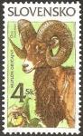 Stamps Europe - Slovakia -  fauna, ovis musimon