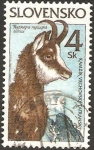 Stamps Europe - Slovakia -  fauna, rupicapra tatrica