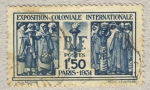 Stamps France -  International Colonial Exposition in Paris