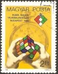 Stamps Hungary -  Cubo de Rubik Locka