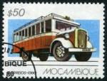 Sellos de Africa - Mozambique -  Transporte Público