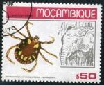 Sellos de Africa - Mozambique -  Parásitos