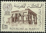 Stamps Morocco -  Trajan