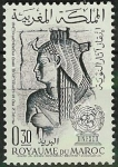 Stamps Morocco -  Isis