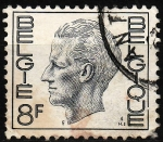 Stamps : Europe : Belgium :  Rey Balduino de Bélgica