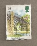 Stamps United Kingdom -  Arqueología industrial