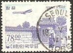 Stamps Asia - South Korea -  puerta songyn