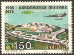 Stamps Italy -  academia militar aeronautica de pozzuoli