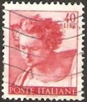 Stamps Italy -  833 - El Profeta Daniel