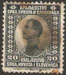 Stamps : Europe : Yugoslavia :  Príncipe Regente Alexandre