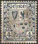 Stamps : Europe : Ireland :  escudo de armas de las cuatro provincias