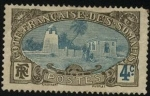 Stamps France -  Costa Francesa de Somalia. Mezquita de Tadjourah - ( Tajurah )