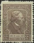 Stamps Argentina -  Bartolomé Mitre