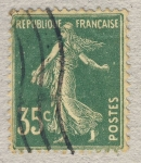 Stamps France -  Semeuse 'fond plein'