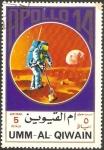 Sellos de Asia - Emiratos Árabes Unidos -  umm al qiwain, apolo 14, espacio
