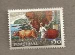 Stamps Portugal -  Madeira, uvas y vino