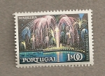 Sellos de Europa - Portugal -  Madeira, fuegos artificiales