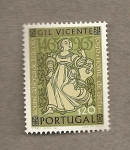 Sellos de Europa - Portugal -  Obras de Gil Vicente