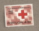 Stamps Portugal -  100 Aniv Cruz Roja Portuguesa