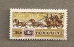 Stamps Portugal -  Conferencia Postal Paris