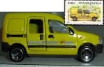 sellos de Europa - Francia -  coche de correos miniatura ( se venden en  oficinas de La Poste - Francia )