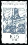 Sellos de Europa - Alemania -  ALEMANIA - Castillo Wartburg