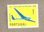 Sellos de Europa - Portugal -  50 Aniv Aeroclub de Portugal