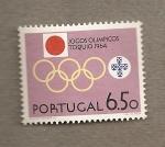 Sellos de Europa - Portugal -  Juegos Olímpicos Tokio
