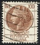 Stamps Italy -  Medallón