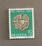 Stamps Switzerland -  Propatria 1964
