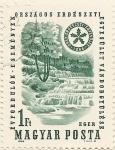 Sellos de Europa - Hungría -  ORSZAGOS ERDESZETI 1866