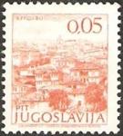 Stamps : Europe : Yugoslavia :  ciudad
