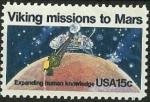 Stamps United States -  Viking