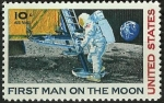 Stamps United States -  Neil Armstrong