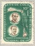 Stamps Colombia -  VI congreso nacional de ingenieros