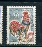 sellos de Europa - Francia -  simbolo galo