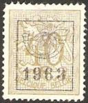 Stamps Belgium -  leon rampante (1963)
