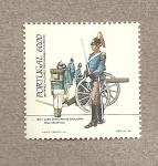 Stamps Portugal -  Cabo conductor de artillería