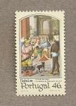 Sellos de Europa - Portugal -  Navidad 1985